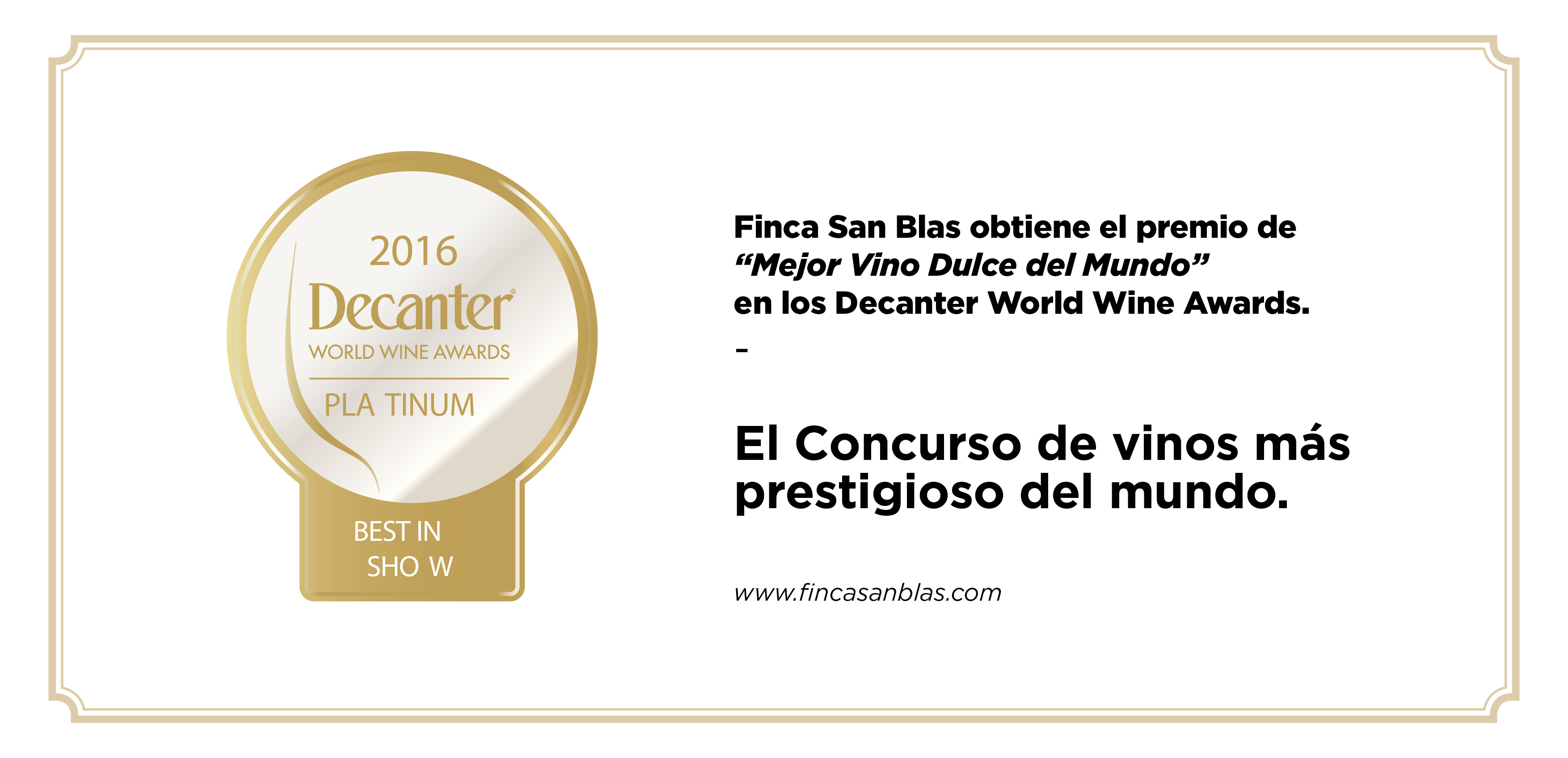 FSB PREMIO DECANTER mini